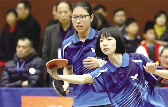 全省初中乒乓球团体冠军赛启幕