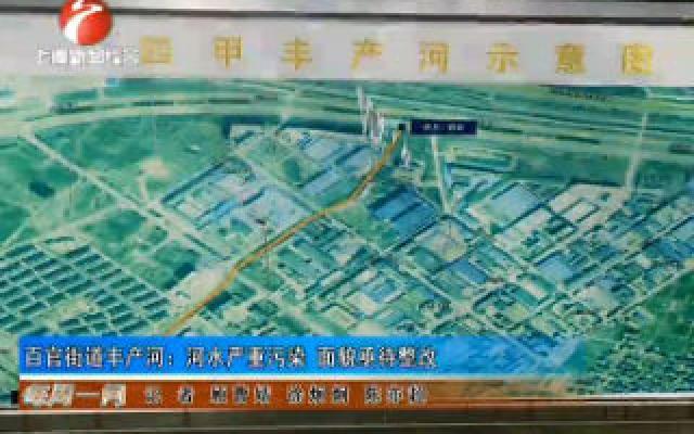 百官街道丰产河:河水严重污染 面貌亟待整改