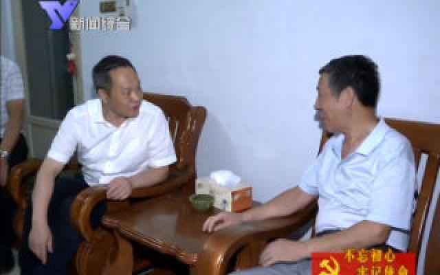 奚明赴泗门镇东大街社区开展夜访活动
