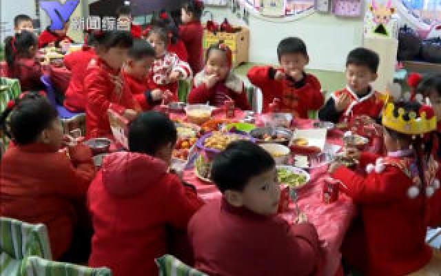 春节来临:小朋友红红火火过大年