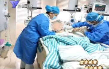 驰援武汉医疗救治队队员魏鲜在抗疫前线度过特殊生日