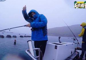 田亮康复归队遇难题,《美味猎手》冒险出航海钓遭遇暴雨危机