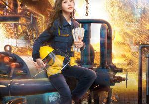 全新一季《奔跑吧》Angelababy海报出炉 因为勇敢 所以发光