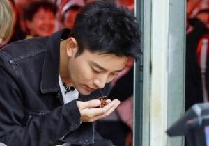 賈乃亮菜場買菜毫無偶像包袱,網友大呼:賈乃亮好接地氣一男的!