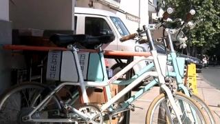 杭州:共享电动车被叫停