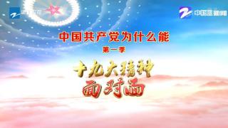 中国共产党为什么能(第一季)十九大精神面对面:走进嘉兴南湖松鹤社区