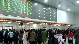 杭州春运首趟列车25日开行部分车次八折优惠