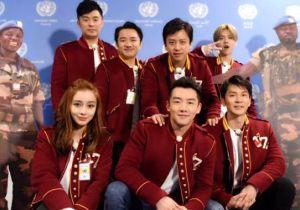 浙江卫视《奔跑吧》新年第一跑! 中国综艺首次跑进联合国
