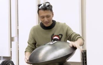 当谢霆锋老师玩起了手碟,这画风……