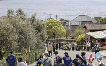 日本福冈将取消奥运火炬在当地传递