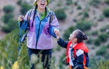 拥抱自然,挑战自我!《不要小看我》傅首尔夫妇与萌娃一起见证风雨后的彩虹