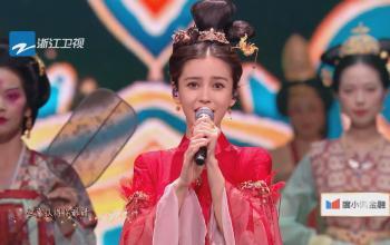 Angelababy《星月神话》 浙江卫视百度潮盛典