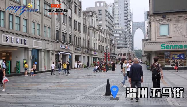 【視頻】禮讓斑馬線·溫州