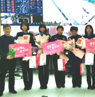 2019萬朵鮮花送巾幗杭州交警