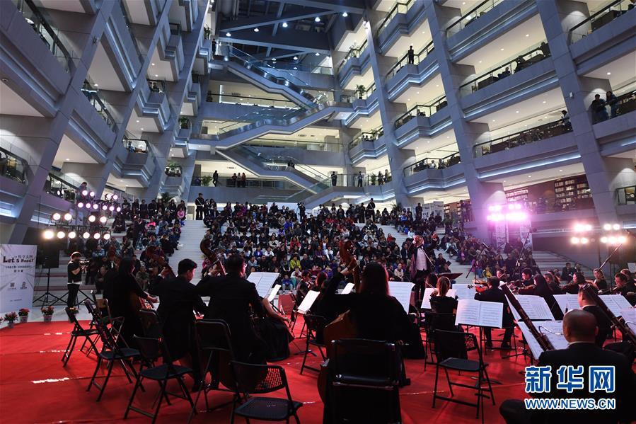 (文化)(3)图书馆里的交响音乐会