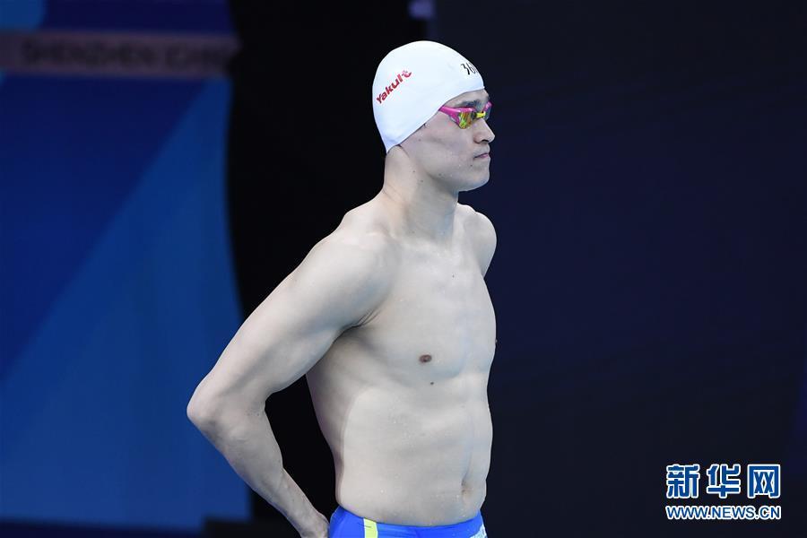 (体育)(6)游泳——FINA冠军系列赛:孙杨获男子200米自由泳亚军