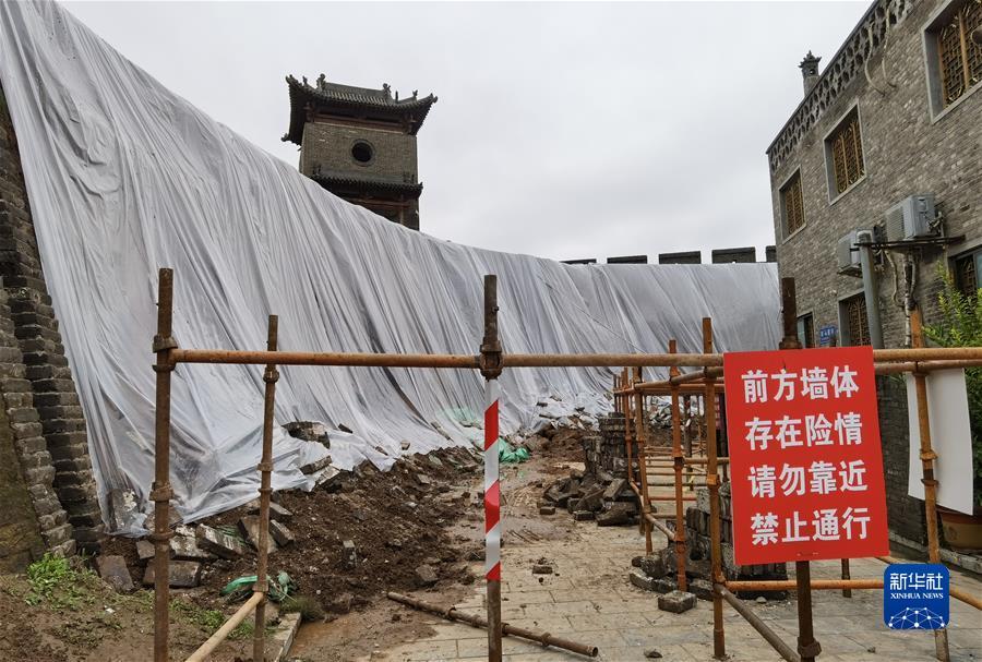 (新华视点·图文互动)(1)1700余处出现险情!山西如何抢救暴雨中受损的文物?