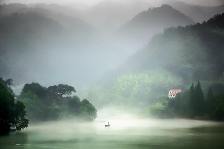 画一幅桐庐最美的风景