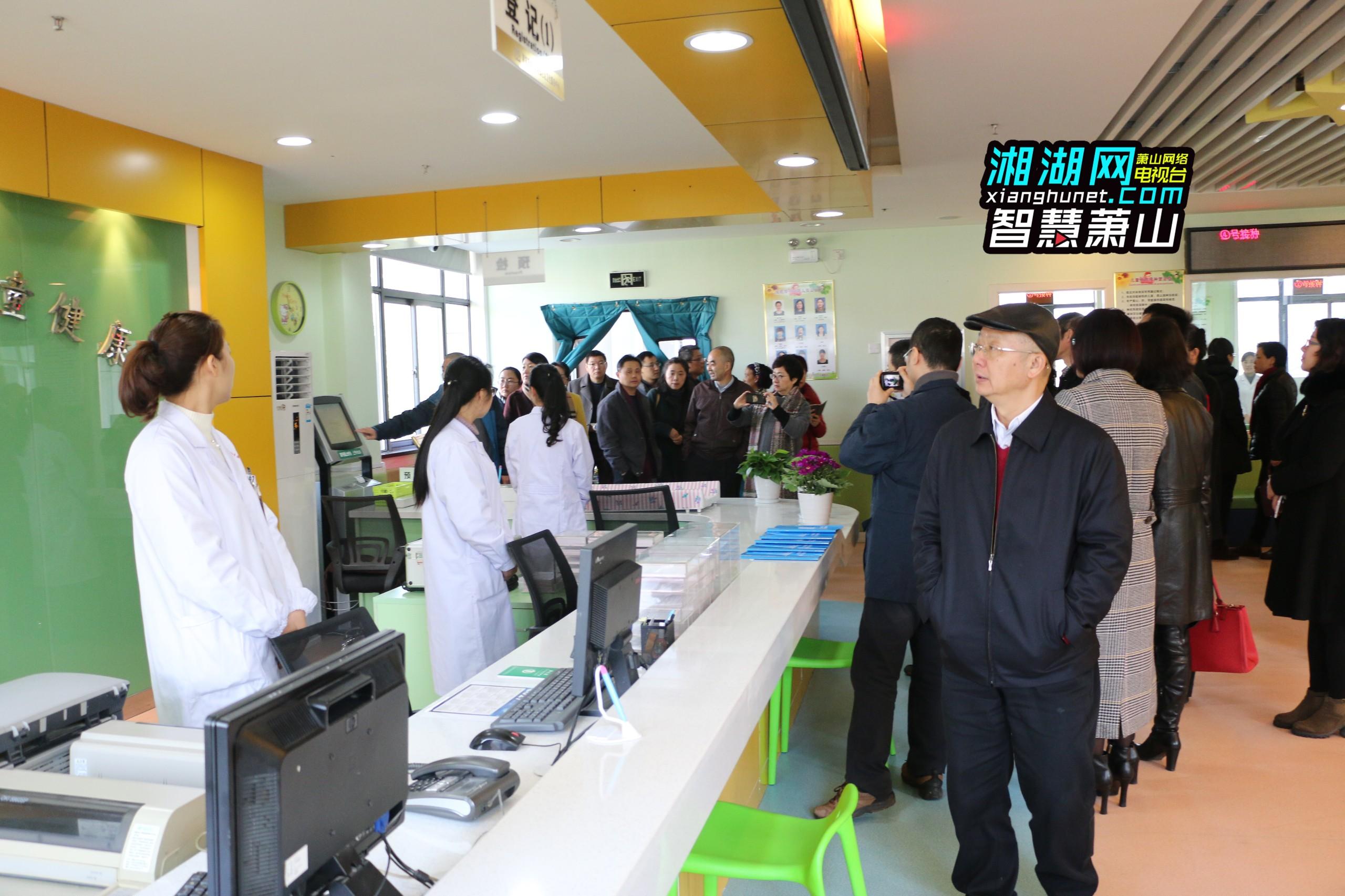 中心主任黄建文表示,闻堰街道社区卫生服务中心预防