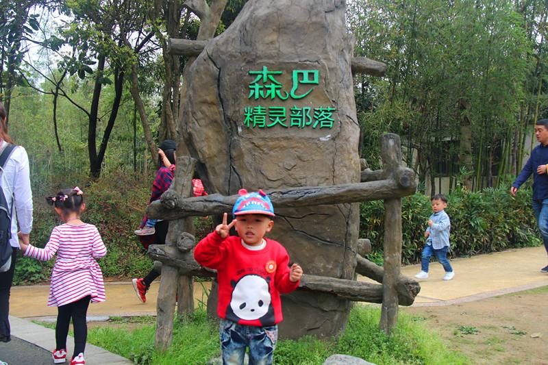 广元幼儿园开展野生动物园亲子约会活动