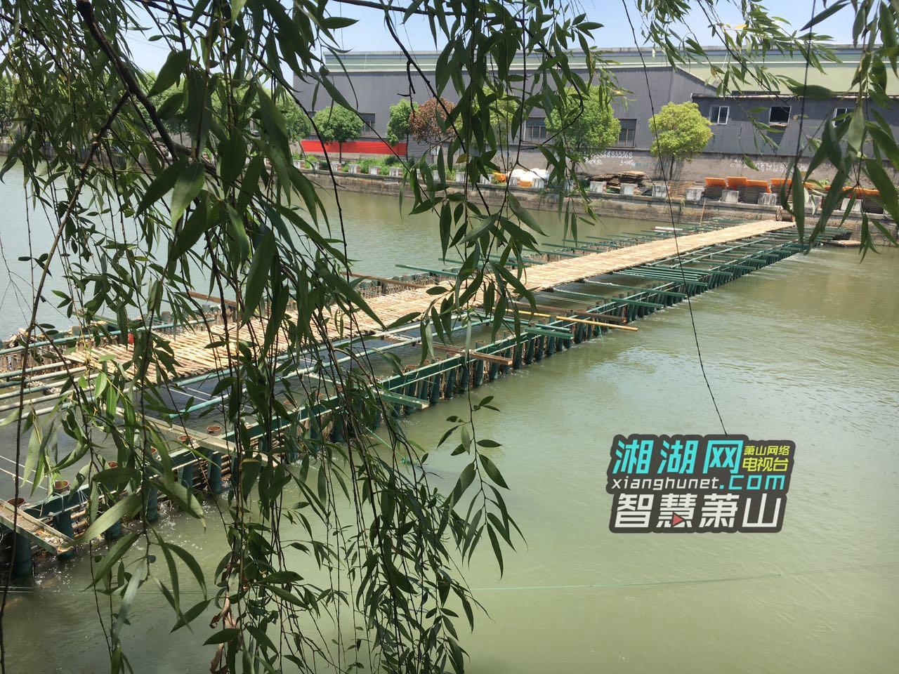 萧山一小区停车场被河水倒灌 问题出在哪?_湘湖网