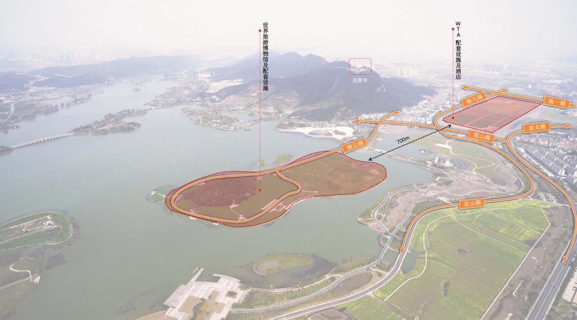 世界旅游联盟总部选址杭州萧山湘湖压湖山岛,世界旅游联盟配套项目
