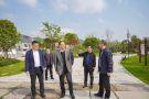 市委宣传部副部长、文明办主任钮俊来义桥调研省级文明镇创建工作