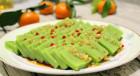 【跨年飯】碧綠芹香肉皮凍:肉皮凍也可以有色彩