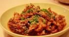 菜飯湯齊全,香酥糖醋里脊、什錦炒飯、味增湯