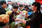 綠色蔬菜進社區