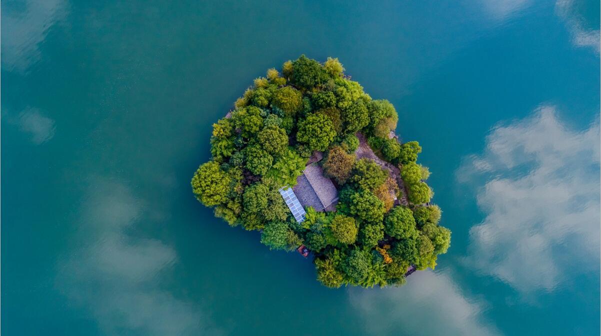 湘湖湖心岛