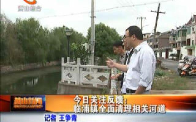 今日关注反馈:临浦镇全面清理相关河道