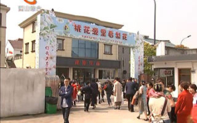 浦陽鎮第二屆梨花節開幕
