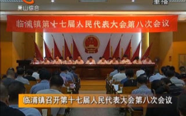 临浦镇召开第十七届人民代表大会第八次会议
