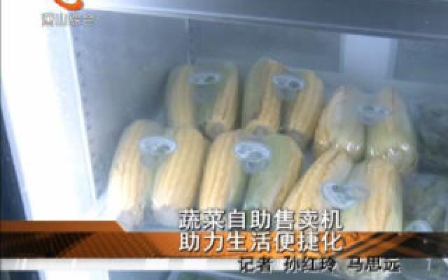 蔬菜自助售卖机  助力生活便捷化