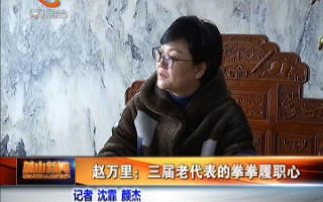 赵万里——三届老代表的拳拳履职心