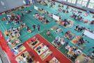 蕭山寧圍中心小學的臨時避災點