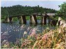 五孔平行石板桥——黄家大桥