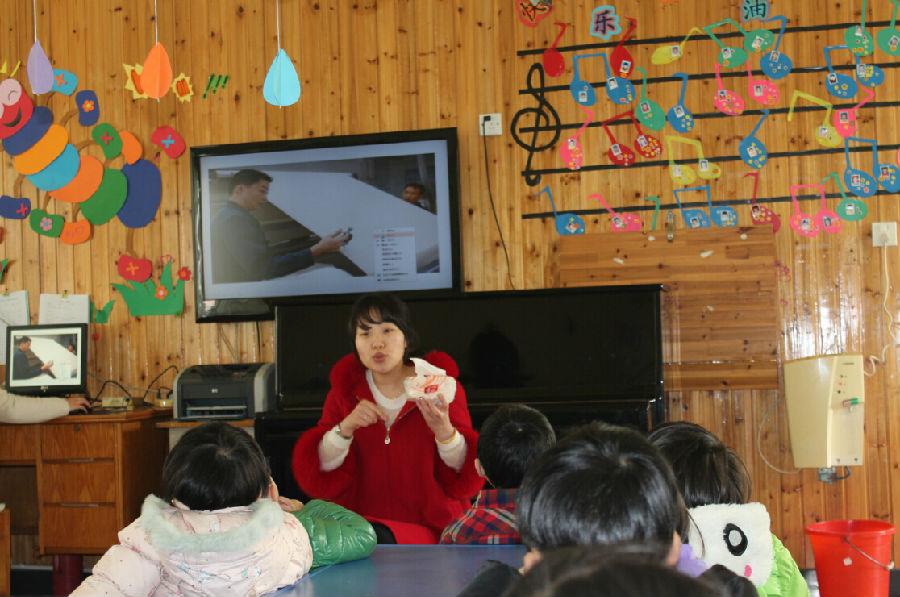 南阳幼儿园:保护环境,从节约用纸开始