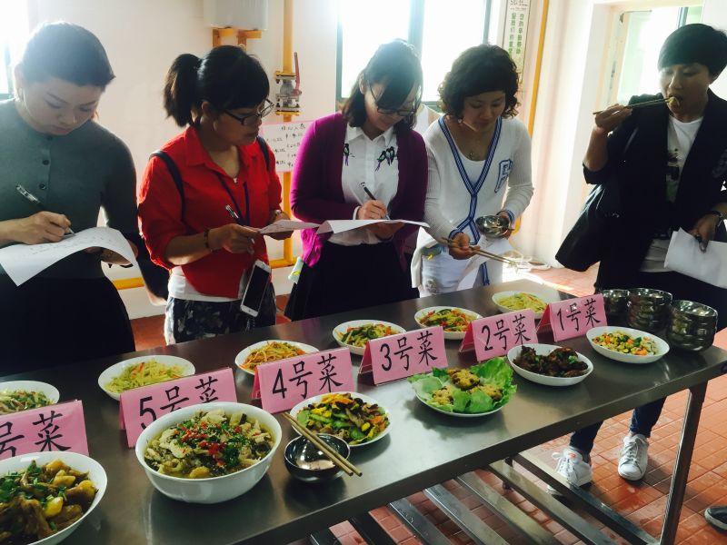 贺知章幼儿园:举办首届食堂工作人员厨艺大比拼